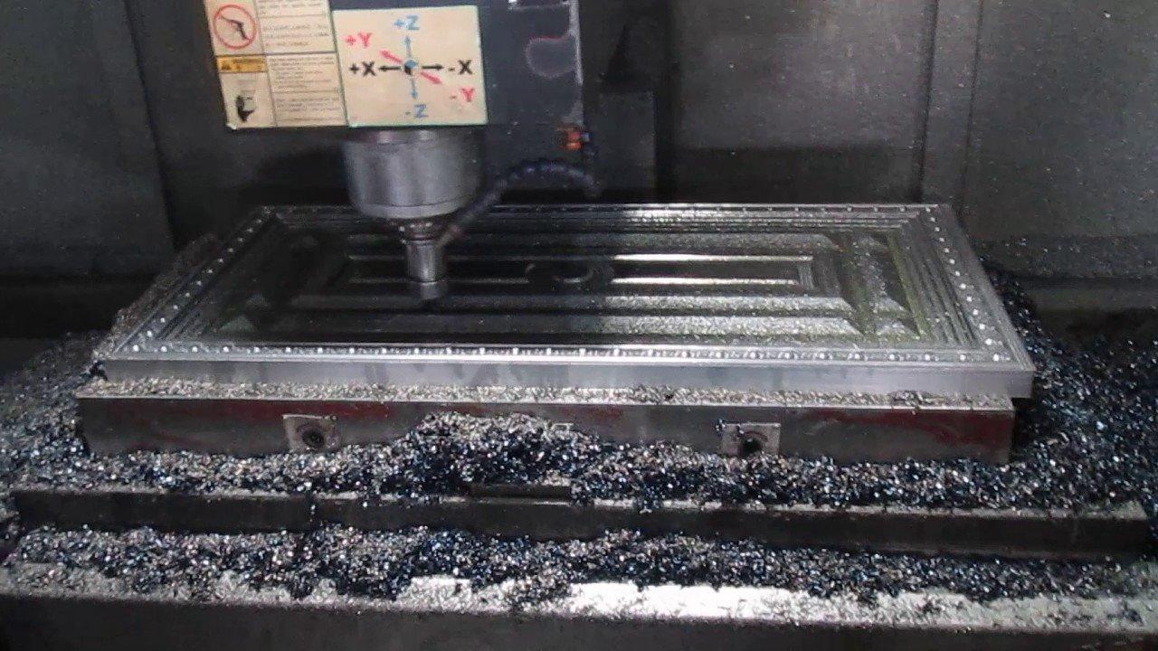 отделка с фрезеровкой металла