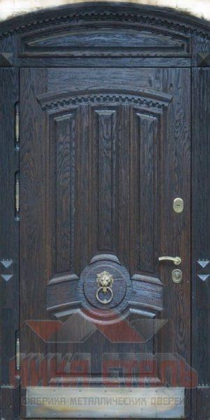 арочные двери массив