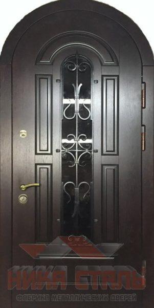 арочные двери в дом
