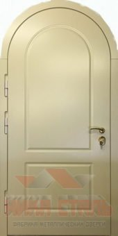арочные металлические двери