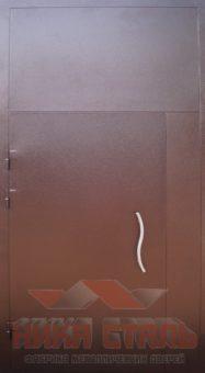 двери подъездные металлические