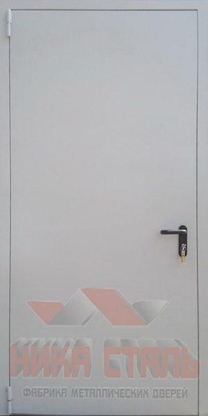 глухие противопожарные двери