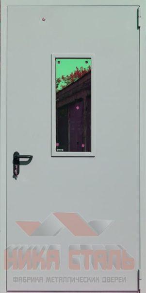 Остекленные противопожарные двери