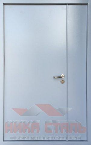 противопожарная дверь двухстворчатая