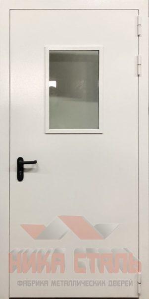 противопожарные двери со стеклом