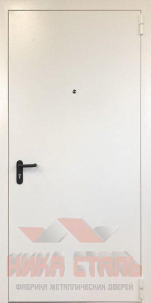 Белые противопожарные двери