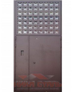 Подъездные металлические двери