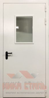оцинкованная противопожарная дверь