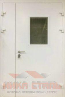 оцинкованная дверь