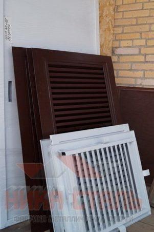 Жалюзийная вентиляционная решетка