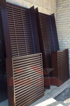 жалюзийные вентиляционные решетки