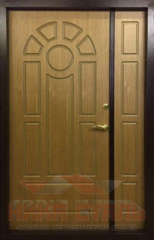 входные двери в дом двухстворчатые
