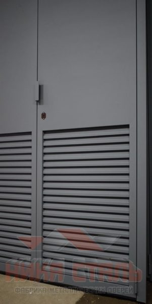 Ворота в подстанции ВТР 12