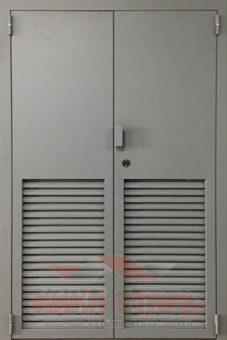 Двупольная дверь в трансформаторную