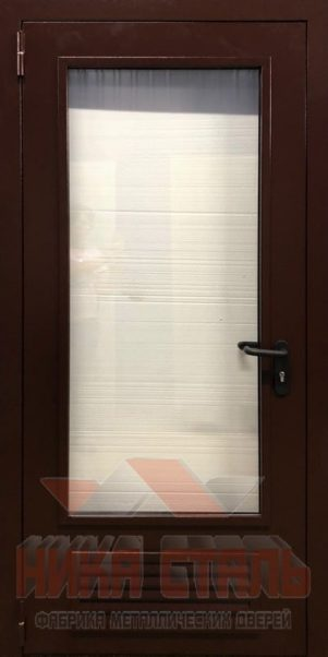 Дверь в газовую котельную