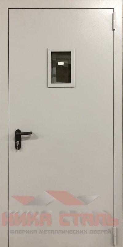 Железная дверь на этаж