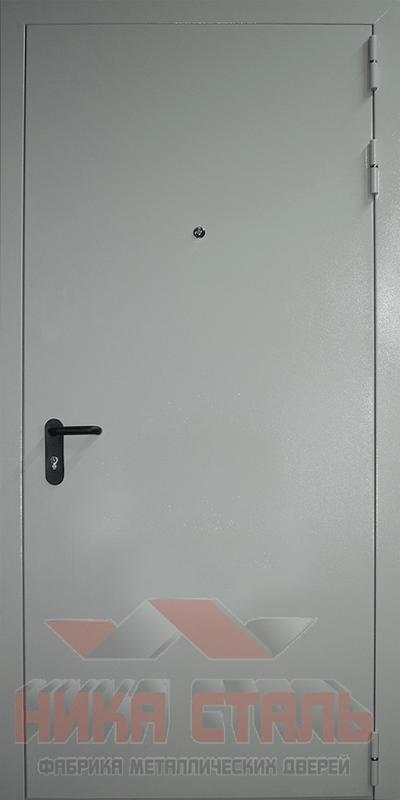 Дверь внутренняя противопожарная оцинкованная