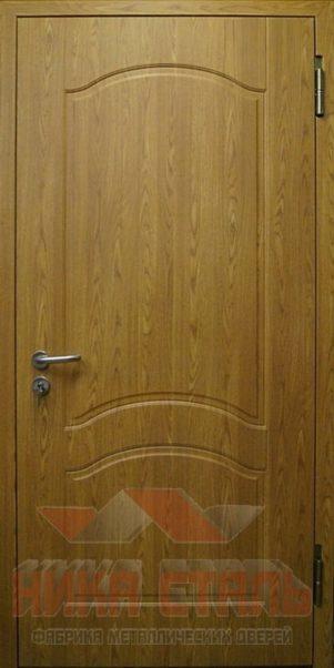 Противопожарная дверь с отделкой МДФ