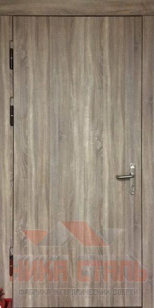 Противопожарная металлическая дверь МДФ