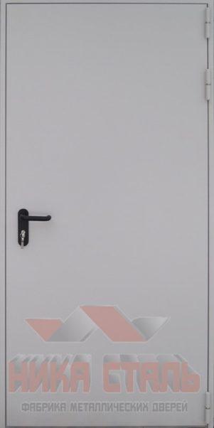 Противопожарная дверь с МДФ