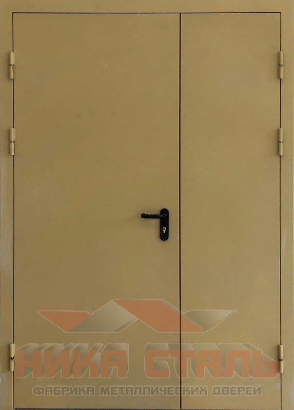 Дверь оцинкованная противопожарная