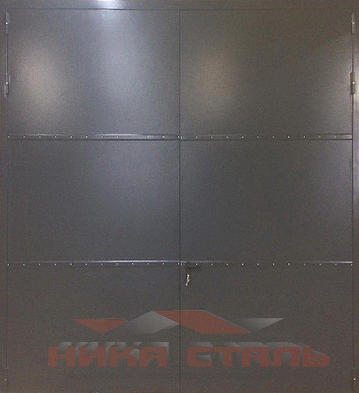 Металлические противопожарные ворота