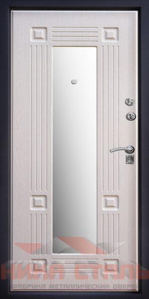 Входная дверь с зеркалом внутри ВДЗ 99